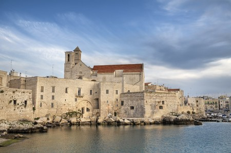Giovinazzo Cathedral. Apulia. photo