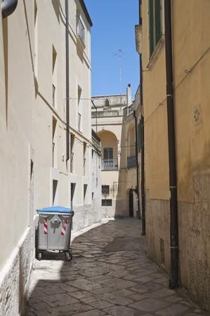 Alleyway in Altamura Oldtown. Apulia. photo