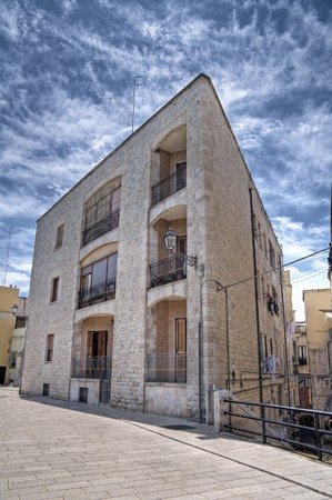 Typical house in Bari Oldtown. Apulia. Stock Photo - 7101459