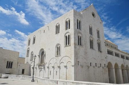 St. Nicholas Basilica. Bari. Apulia. Imagens - 7101458