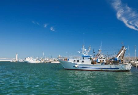 Molfetta harbour. Apulia. photo