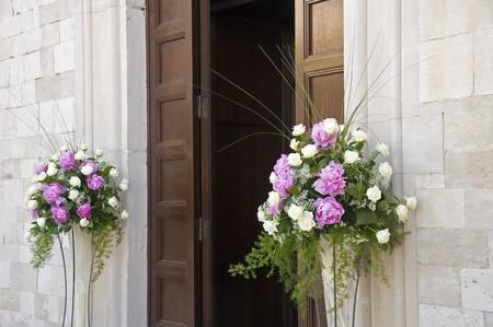 church flower: Giorno di nozze.