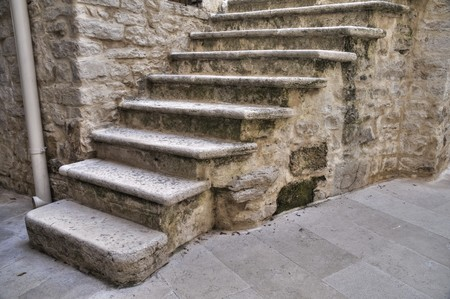 rustiness: Stone Staircase.