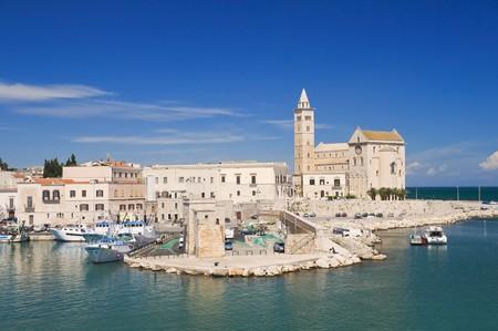 Cattedrale del mare. Trani. Apulia.  Archivio Fotografico