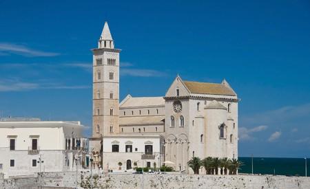 Cathedral on the sea. Trani. Apulia. photo