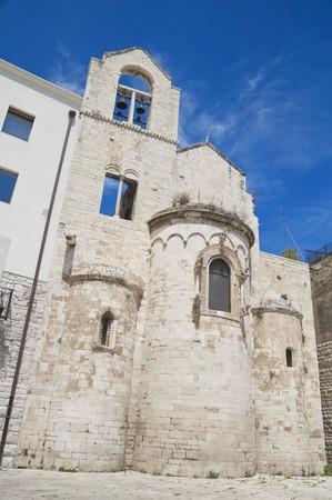 knights templar: Knights Templar Church of Ognissanti. Trani. Apulia.