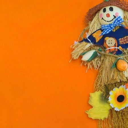 Halloween Scarecrow. photo