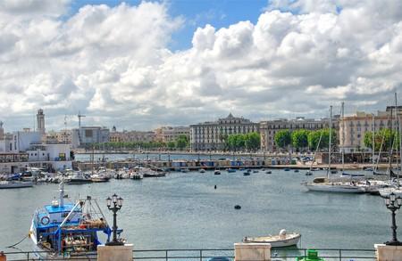Panoramic view of Bari. Apulia. Imagens - 7254419