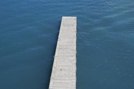 floating bridge: Floating bridge.