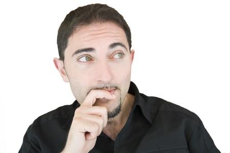 Thoughtful man. Stock Photo - 7289986