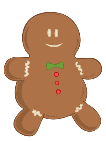 Gingerbread. Vector