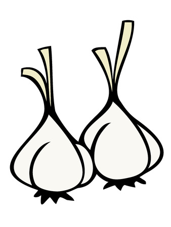 clous de girofle: Gousses d'ail.