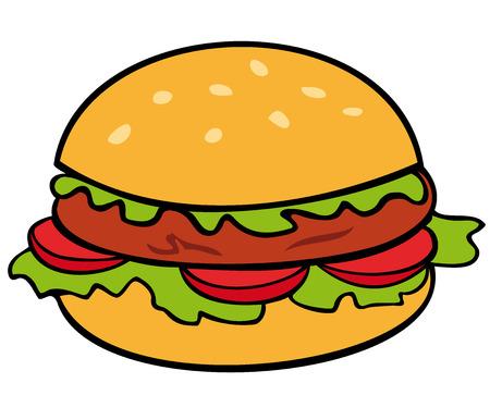 bun: Hamburger.