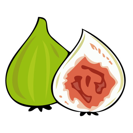 Fresh figs. Imagens - 7289948