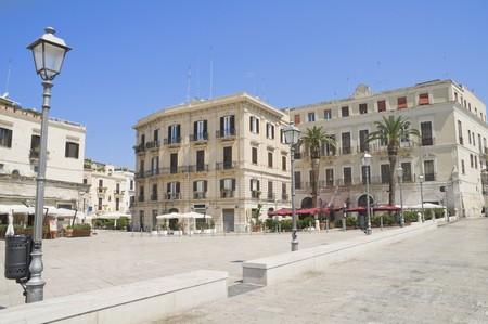 Ferrarese Square. Bari. Apulia. photo