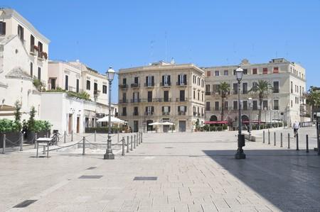 Ferrarese Square. Bari. Apulia.