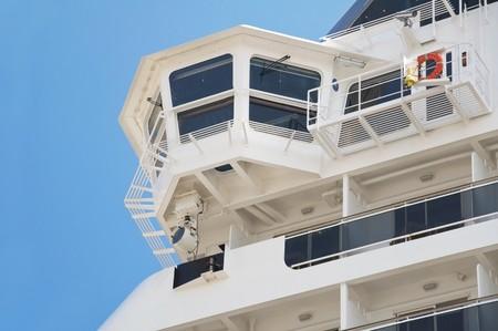 Close up of a Cruise Ship. photo