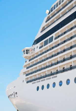 onboard: Cruise Ship. Stock Photo
