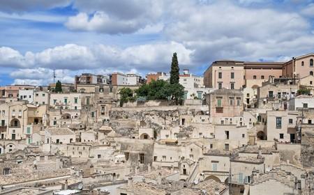 basilicata: Sassi of Matera. Basilicata.