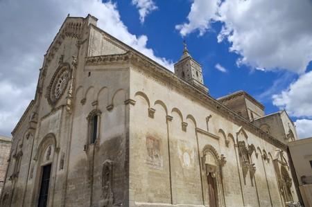 matera: Matera Cathedral. Basilicata.