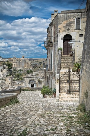 Sassi of Matera. Basilicata. photo