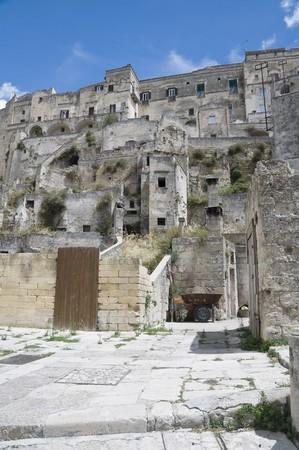 matera: Sassi of Matera. Basilicata.