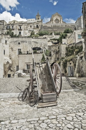 Sassi of Matera. Basilicata. photo