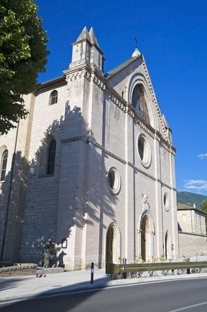 Sanctuary of Saint Maria in Rivotorto. Umbria. photo