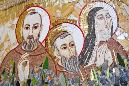rotondo: San Giovanni Rotondo Sanctuary. Foggia. Apulia.