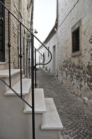 Alleyway. Bovino. Apulia. photo