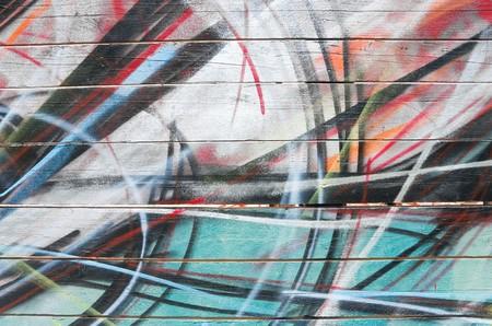 Graffiti background. Stock Photo
