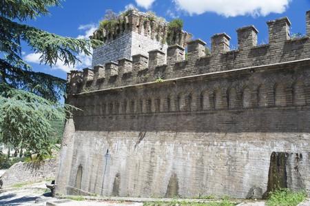 spello: Albornoz fortress. Spello. Umbria.