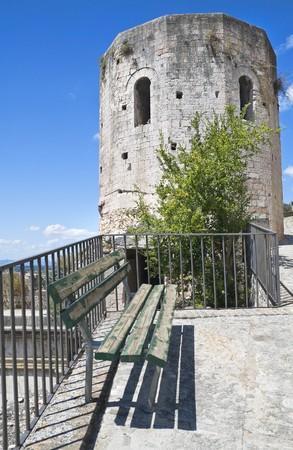 spello: Properzio Tower. Spello. Umbria. Stock Photo
