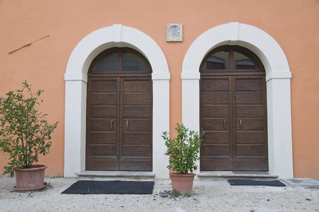 Wooden doors. Stock Photo - 7639946