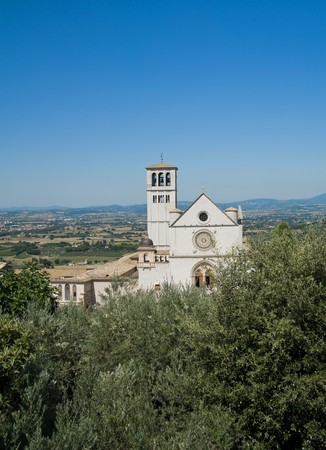 St. Francesco Basilica. Assisi. Umbria. photo