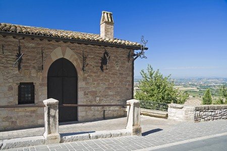 assisi: Historical house. Assisi. Umbria.