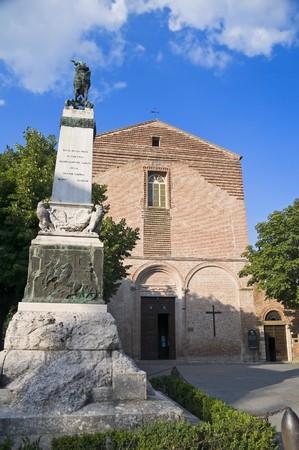 St. Francesco Church. Citta della Pieve. Perugia. Umbria. photo