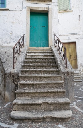 foggia: Typical house. Bovino. Foggia. Apulia. Stock Photo