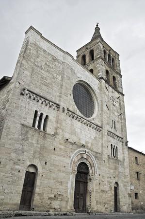 bevagna: St. Michele Arcangelo Church. Bevagna. Umbria. Stock Photo
