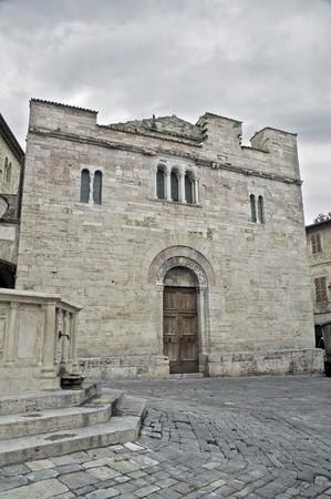 St. Silvestro Church. Bevagna. Umbria. photo
