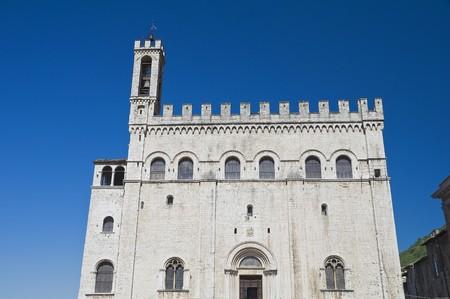 Consuls Palace. Gubbio. Umbria. photo