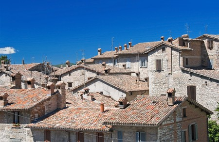 View of Gubbio. Umbria. photo