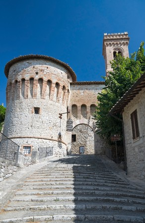 Torrione di Porta Santa Maria. Corciano. Umbria. Stock Photo - 7871855