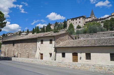 spello: View of Spello. Umbria.