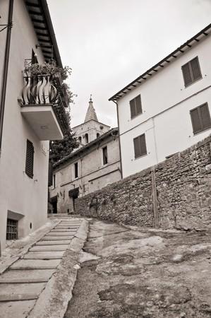 Alleyway. Bevagna. Umbria. photo