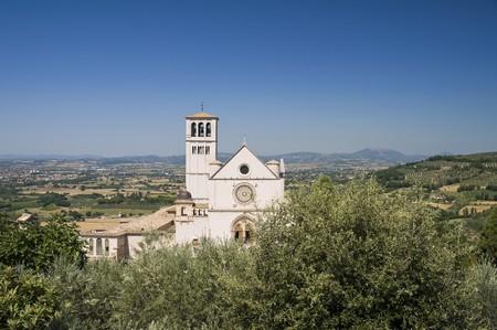 francesco: St. Francesco Basilica. Assisi. Umbria.