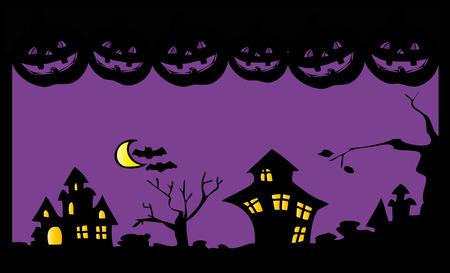 Halloween night. Stock Vector - 7794384