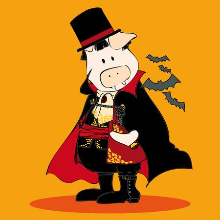 vlad: Dracula. Illustration