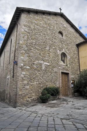 bevagna: St. Agostino Church. Bevagna. Umbria.