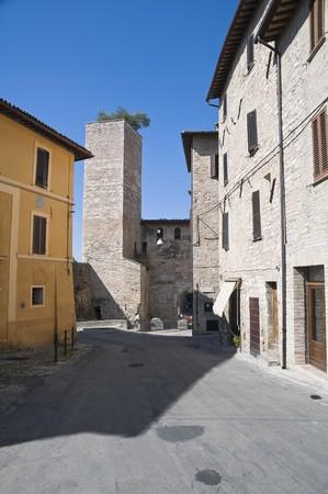spello: Alleyway. Spello. Umbria.